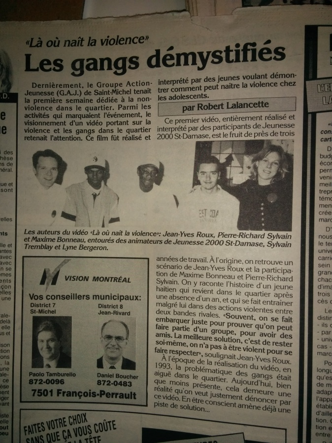 Jean-Yves Roux 1995-1996