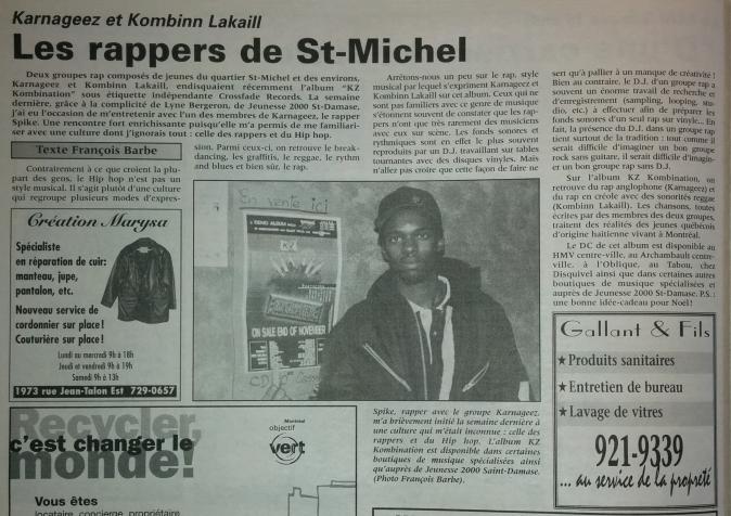 Spike KZ Kombination Déc.1997