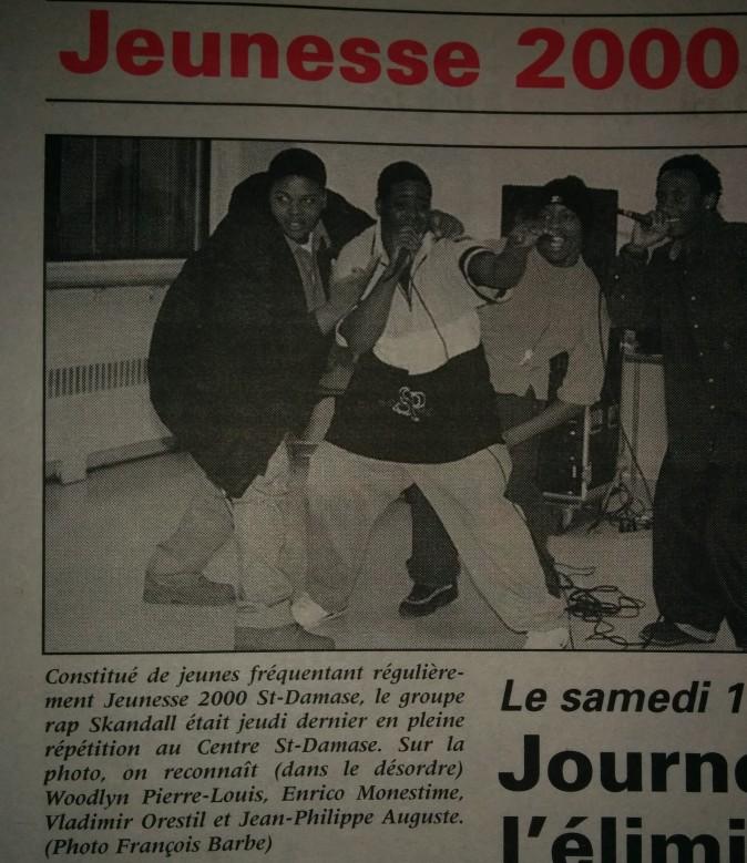 SKANDALL- JEUNESSE 2000 (11 OCT.1998)